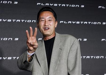 Kaz Hirai arrives at a party held by Sony Computer Entertainment America celebrating the new Playstation 3 game console in Beverly Hills November 8, 2006. Hirai hopes to turn a profit on the PlayStation 3 console business in the entertainment conglomerate's next fiscal year, fueled in part by falling costs for the parts used to make the device. REUTERS/Fred Prouser