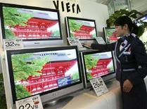 <p>Alcune tv Matsushita. REUTERS/Toru Hanai (JAPAN)</p>