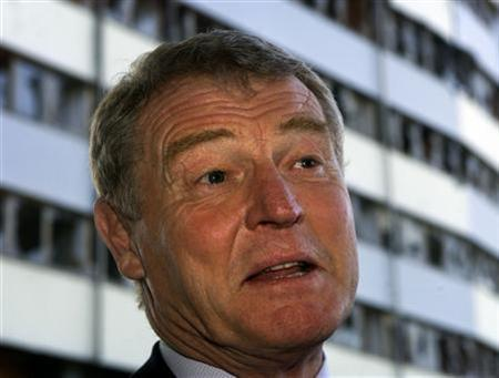 Paddy Ashdown in a file photo. Ashdown has agreed to become the United Nations' envoy to Afghanistan, a source close to negotiations on the post said on Wednesday. REUTERS/Danilo Krstanovic