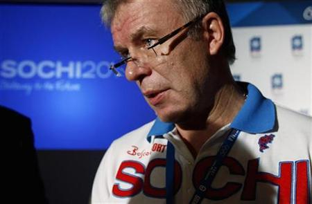 Russia's Sports Minister Vyacheslav Fetisov speaks with the media in Guatemala City July 2, 2007. Russia has created an independent anti-doping agency, RusADA, in an effort to boost the fight against performance-enhancing drugs, Fetisov said on Friday. REUTERS/Juan Carlos Ulate