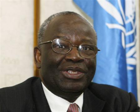 United Nations envoy Ibrahim Gambari is seen in Hanoi in this November 26, 2007 file photo. China, one of the Myanmar's few friends, urged the ruling generals on Tuesday to allow Gambari back soon to promote a genuine dialogue between the junta and opposition. REUTERS/Kham/Files