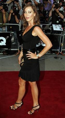 Tamara Mellon, co-founder of Jimmy Choo shoe company, arrives at the GQ Man of the Year awards in London, September 5, 2006. Mellon filed a lawsuit on Wednesday against her estranged mother, seeking $10 million in damages stemming from the 2004 sale of the business. REUTERS/Luke MacGregor