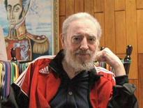<p>Il leader cubano Fidel Castro. REUTERS/Luiz Inacio Lula da Silva/CubaVision TV/Handout (CUBA). EDITORIAL USE ONLY. NOT FOR SALE FOR MARKETING OR ADVERTISING CAMPAIGNS.</p>