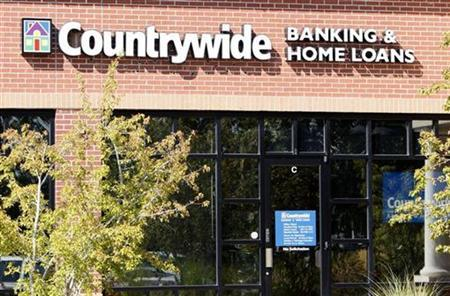 The Countrywide bank is seen in Lakewood, Colorado September 11, 2007. REUTERS/Rick Wilking