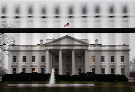The White House is pictured in Washington, January 28, 2008. REUTERS/Jonathan Ernst