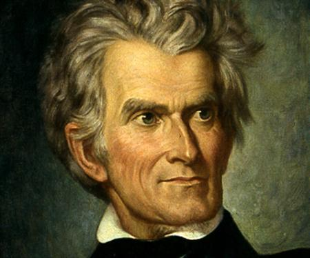 Former Vice President John C. Calhoun in an undated image. A New York state employee who had access to government-owned archives has been arrested on suspicion of stealing hundreds of historic documents, many of which he sold on eBay, authorities said on Monday. Among the missing documents were an 1823 letter by Calhoun and copies of the Davy Crockett Almanacs. REUTERS/Handout
