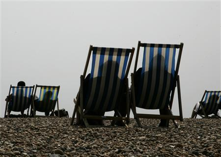 Beachgoers in a file photo. A survey of sexually active seniors in a youth-dominated culture revealed age is no barrier for those with more time on their hands - almost half of those polled were having sex at least once a week. REUTERS/File