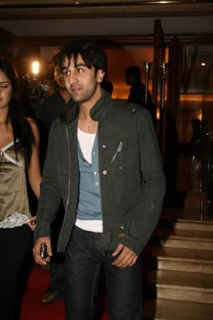 Ranbir Kapoor is seen at the Bling discotheque in Mumbai in this undated photo. REUTERS/Handout