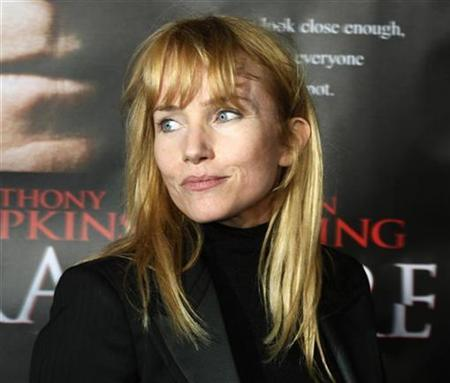 Rebecca De Mornay arrives as a guest at the premiere of the drama thriller film ''Fracture'' in Los Angeles April 11, 2007. De Mornay, best known for starring opposite Tom Cruise in the hit film ''Risky Business,'' was sentenced to three years' probation on Tuesday after pleading no contest to drunken driving. REUTERS/Fred Prouser