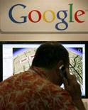 <p>Il logo di Google. REUTERS/Mike Blake</p>