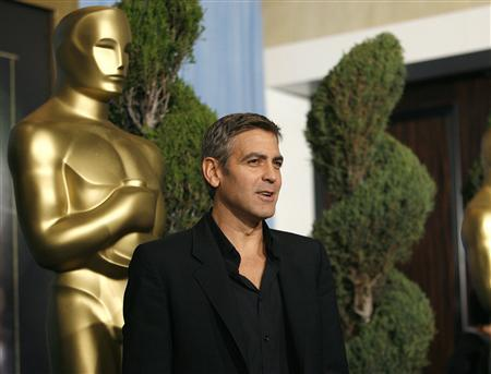 George Clooney at the 80th annual Academy Awards Nominee Luncheon in Beverly Hills, February 4, 2008. REUTERS/Mario Anzuoni