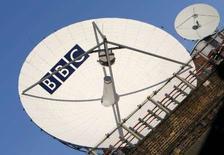 <p>La BBC a indiqué que quelque 17 millions de programmes avaient été visionnés ou téléchargés depuis le lancement, le 25 décembre, de son service à la demande iPlayer. /Photo d'archives/REUTERS/Toby Melville</p>