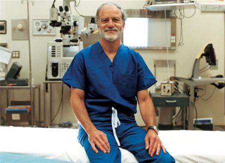 Stanford University School of Medicine's Gary Steinberg MD, PhD in an undated photo courtesy of the school. Transplanting brain cells produced from human embryonic stem cells helped fix stroke damage in the brains of rats, according to scientists who hope to test the same thing in people within about five years. REUTERS/Angela Wyant/Image courtesy of Stanford University Medical Center/Handout
