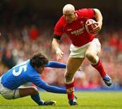 <p>Un momento del match tra Galles e Italia. REUTERS/ Eddie Keogh</p>