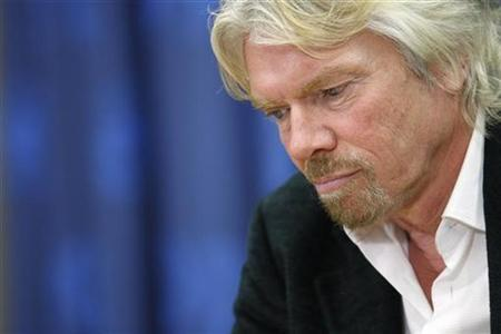 Virgin Group Chairman, Richard Branson listens to a question during a news conference as part of the UN General Assembly debate about climate change at U.N. Headquarters in New York, February 11, 2008. REUTERS/Chip East