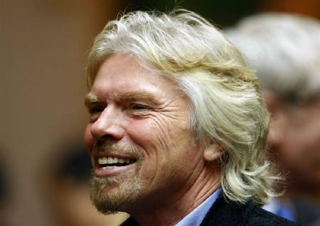 Virgin Chairman Sir Richard Branson seen in Shanghai in this January 19, 2008 file photo. REUTERS/Dylan Martinez
