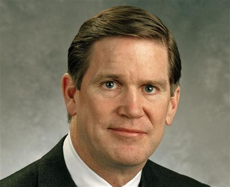 Sandy Cutler, Eaton's chief executive and chairman is seen in this undated handout photo. The top executive at Eaton Corp on Friday said he expects U.S. industrial output to rebound in the second half of the year after underperforming the wider economy yet again in the first quarter. REUTERS/ Handout