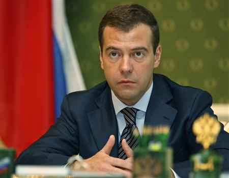 Russia's First Deputy Prime Minister and president-elect Dmitry Medvedev speaks at a meeting in Moscow March 13, 2008. REUTERS/RIA Novosti/Pool/Dmitry Astakhov
