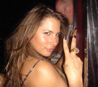 A photo of Ashley Alexandra Dupre from a myspace.com dated Vegas 2006. REUTERS/myspace.com