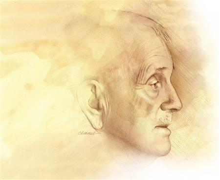 An elderly man in an undated illustration. An estimated 5.2 million Americans have Alzheimer's disease, and it could steal the minds of one out of eight baby boomers, according to a report released on Tuesday by the Alzheimer's Association. REUTERS/National Institute on Aging, National Institutes of Health/Handout