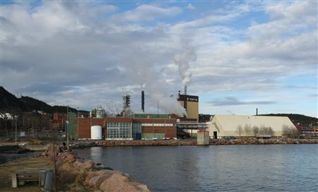 A view of an industrial estate at Tofte near Oslo, Norway, March 2, 2008, where state power group Statkraft will build an experimental ''salt power'' plant in 2008. REUTERS/Alister Doyle