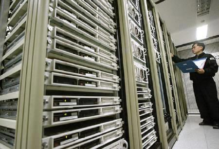 A technician works on servers in a file photo. REUTERS/Kim Kyung-Hoon