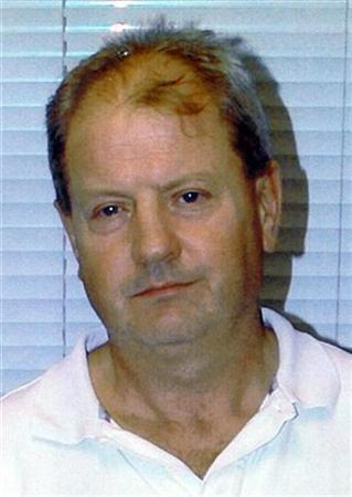 Steve Wright is seen in this undated handout photograph released by Suffolk Police in Ipswich January 14, 2008. Wright sought permission on Wednesday to appeal the life sentence he was handed last month for murdering five prostitutes in his hometown of Ipswich. REUTERS /Suffolk Police/Handout
