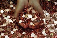 <p>Centesimi di euro appena stampati. CGW/AA</p>