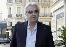 <p>Flavio Briatore a Monaco in una immagine di archivio. REUTERS/Pascal Deschamps</p>