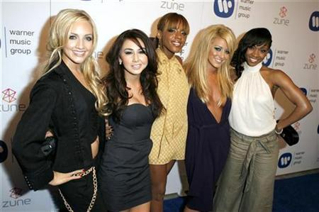 Music group Danity Kane arrives at the Warner Music Group Grammy after-party in Los Angeles February 11, 2007. REUTERS/Max Morse