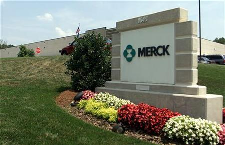 The Merck and Co Pharmaceutical and Services building in Duluth, Georgia, July 8, 2002. REUTERS/Tami Chappell