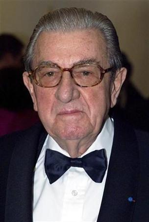 Former FIA (International Motoring Federation) President Jean-Marie Balestre is seen in this January 15, 2000 file photo . Balestre, died March 27, 2008, aged 86. REUTERS/Pascal Guyot/File