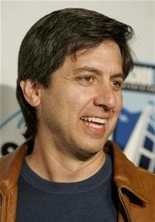 Actor Ray Romano poses at the premiere of his new film ''The Grand'', set in the world of professional poker, in Hollywood, California March 5 2008 . REUTERS/Fred Prouser