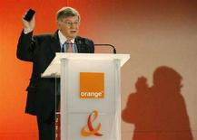 <p>Il presidente di France Telecom Didier Lombard in una foto d'archivio. REUTERS/Benoit Tessier</p>