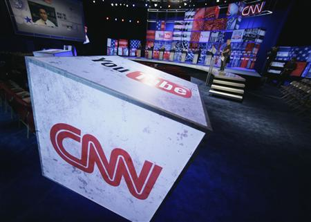 The CNN logo in an undated photo. CNN said it did not mean to cause offence when one of its commentators said the Chinese were ''goons'' and that their products were ''junk''. REUTERS/CNN/Handout