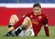 <p>Il capitano della Roma Francesco Totti. REUTERS/Giampiero Sposito</p>