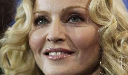 Pop star Madonna poses during a photocall to present her film 'Filth And Wisdom' running at the 58th Berlinale International Film Festival in Berlin February 13, 2008. Madonna has asked a Malawian court to delay a hearing to finalize her adoption of a boy from the southern African nation, a lawyer close to the case said. REUTERS/Hannibal Hanschke