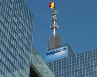 <p>Le gouvernement belge n'est pas contre le principe de réduire sa participation dans l'opérateur historique Belgacom, a déclaré une porte-parole officielle, ce qui apparait être un virage complet de la position du gouvernement, de l'avis des analystes. /Photo d'archives/REUTERS/Thierry Roge</p>