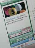 <p>Particolare di una pagina web di un sito di scommesse on-line. REUTERS/Toby Melville</p>
