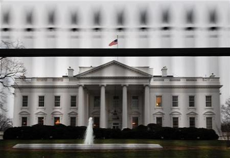 The White House is pictured in Washington, early January 28, 2008. REUTERS/Jonathan Ernst