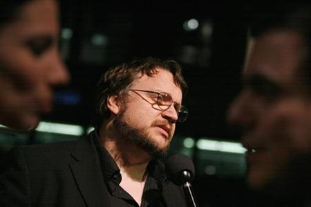Mexican director Guillermo Del Toro is interviewed at the 79th Academy Awards Foreign Language Film Award reception at the Samuel Goldwyn theater in Beverly Hills, California, February 23, 2007. REUTERS/Mario Anzuoni
