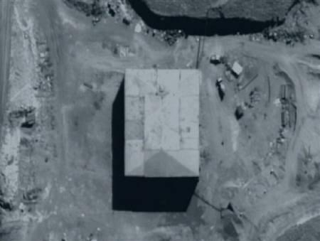 An undated image released by the U.S. Government shows the suspected Syrian nuclear reactor building under construction in Syria. REUTERS/U.S. Government/Handout