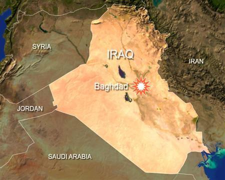 Militants bombarded Baghdad's Green Zone with rockets on Sunday, taking advantage of the cover of a blinding dust storm to launch one of the heaviest strikes in weeks on the fortified compound. REUTERS/Graphics