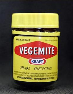 A jar of the Australian spread Vegemite in New York in this October 24, 2006 file photo. REUTERS/Brendan McDermid