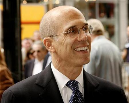 DreamWorks Animation SKG Chief Executive Jeffrey Katzenberg in Hollywood, October 5, 2007. Katzenberg on Tuesday said he was disappointed with the pace at which movie theater chains were moving to deploy digital and 3-D technology. REUTERS/Fred Prouser