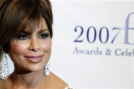 Paula Abdul arrives to attend the 35th annual FiFi awards to honor the fragrance industry's creative achievements in New York May 31, 2007. REUTERS/Lucas Jackson