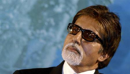 Bollywood actor Amitabh Bachchan attends an audio release function of Tamil movie ''Dasavathaaram'' in April 25, 2008. Bachchan and his celebrity family members have all tentatively agreed to take part in a film based on the life of Bangladesh's founding leader, Sheikh Mujibur Rahman, local media said on Thursday. REUTERS/Babu
