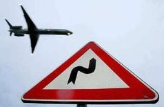 <p>Un aereo. REUTERS PICTURE</p>