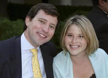 Jenna Bush, daughter of President Bush, poses with boyfriend Henry Hager in an undated photo. REUTERS/Kimberlee Hewitt/The White House/Handout
