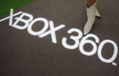 <p>Una scritta di Xbox 360 a una esposizione di videogiochi a Tokyo. REUTERS/Issei Kato (JAPAN)</p>